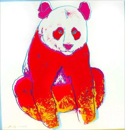 Sérigraphie Warhol - Giant Panda (FS II.295)