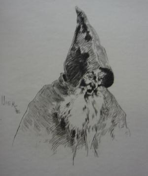 Gravure Vierge - Gil Blas