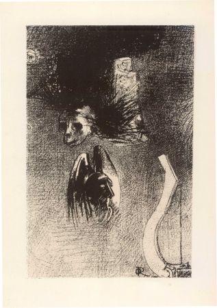 Livre Illustré Redon - GILKIN (Iwan). La Damnation de l'artiste.