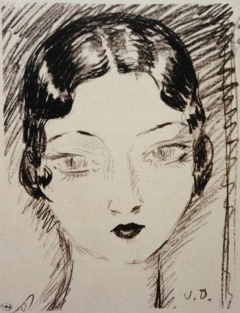 Lithographie Van Dongen - Girl
