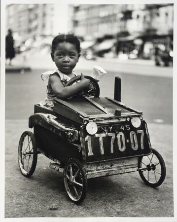Photographie Stein - Girl in Car, New York