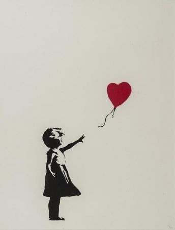 Sérigraphie Banksy - Girl With Balloon