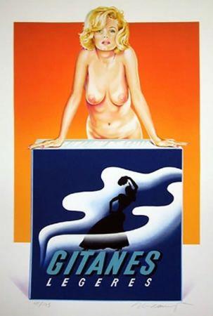 Sérigraphie Ramos - Gitanes