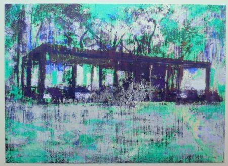 Aucune Technique Perez - Glass House turquoise