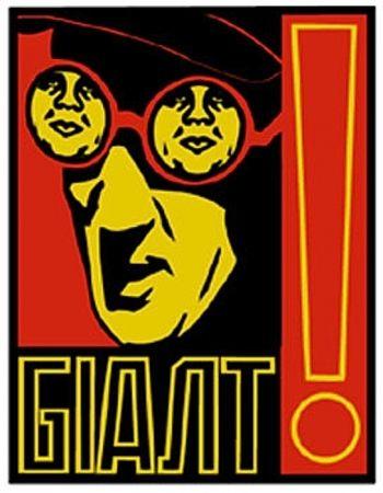 Sérigraphie Fairey - Glasses