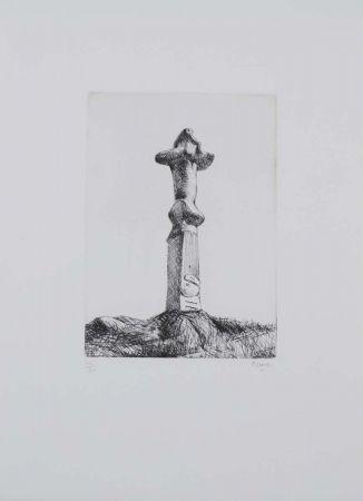 Eau-Forte Moore - Glenkiln Cross