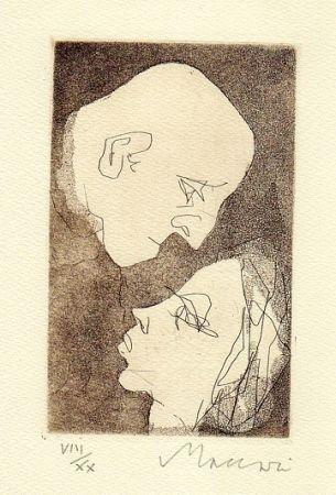 Livre Illustré Maccari - Gli addii