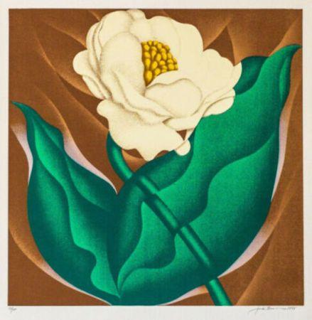 Sérigraphie Brusca - Globe Flower