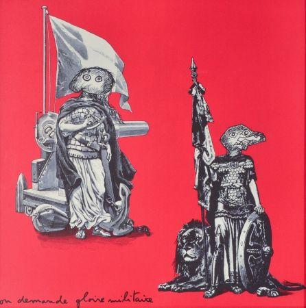 Lithographie Baj - Gloire Militaire