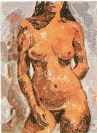 Lithographie Muñoz - GM - 2