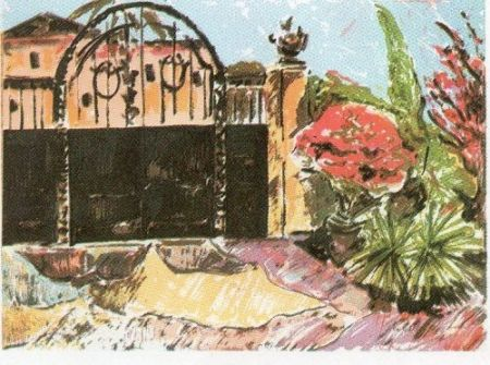 Lithographie Muñoz - GM - 8