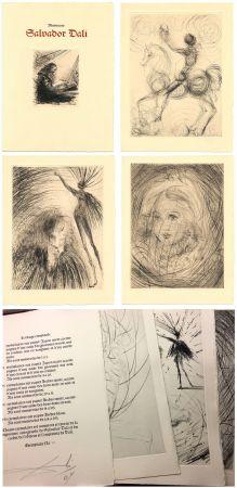 Livre Illustré Dali - GOETHE : FAUST. 21 gravures (ex. avec suite supplémentaire) 1969.