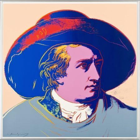 Sérigraphie Warhol - Goethe FS II.273
