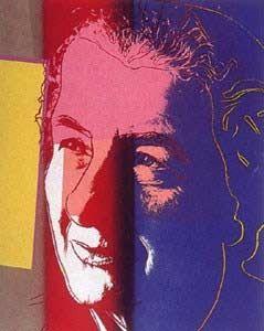 Sérigraphie Warhol - Golda Meir