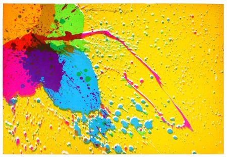 Lithographie Ting - Good Morning (orange)