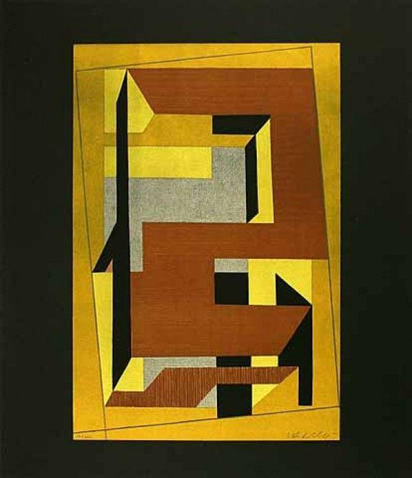 Lithographie Vasarely - Gordes Taira