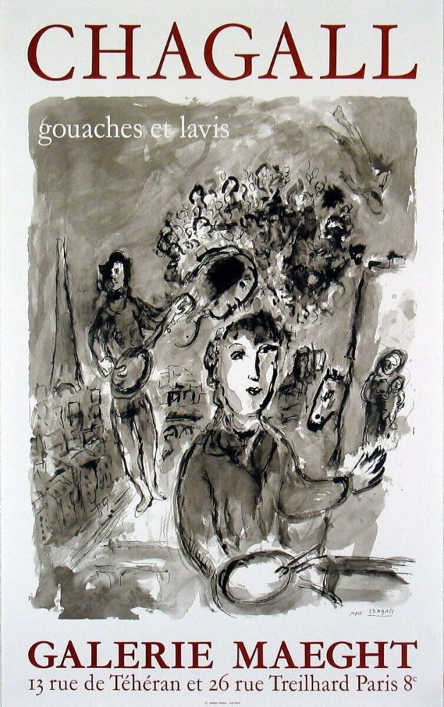 Affiche Chagall -