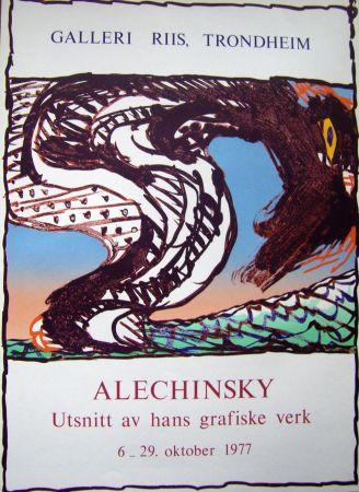 Affiche Alechinsky - Grafiske verk