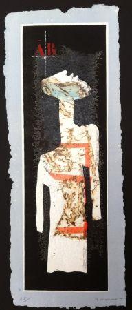 Gravure Coignard - Grand mannequin debout