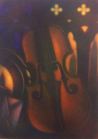 Manière Noire Schkolnyk - Grand violon rouge