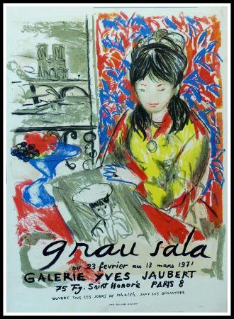 Affiche Grau Sala - GRAU SALA GALERIE YVES JAUBERT