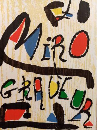 Livre Illustré Miró - Graveur 1