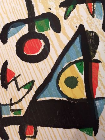 Livre Illustré Miró - Graveur 2