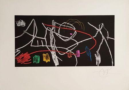 Gravure Miró - Gravure Pour Une Exposition