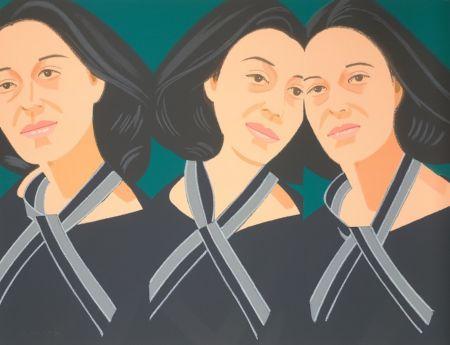 Sérigraphie Katz - Gray Ribbon (Alex and Ada Suite)