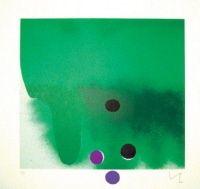 Eau-Forte Et Aquatinte Pasmore - Green Darkness