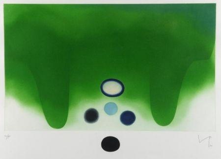 Aquatinte Pasmore - Green Darkness