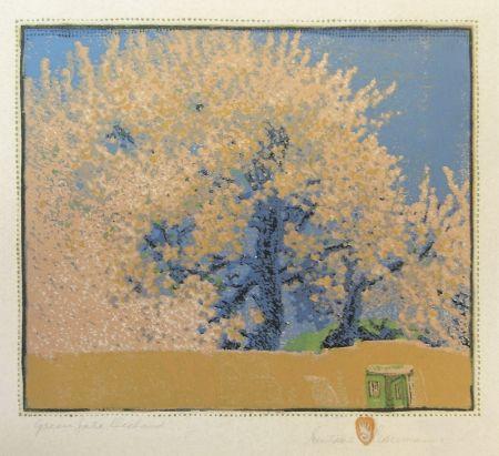 Gravure Sur Bois Baumann - Green Gate Orchard