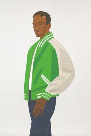 Sérigraphie Katz - Green Jacket (Alex and Ada Suite)