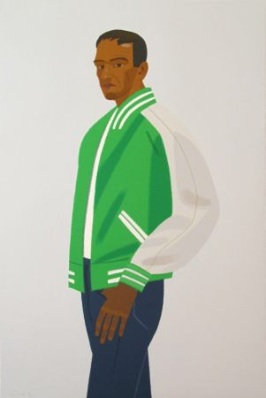 Sérigraphie Katz - Green Jacket (from Alex & Ada portfolio)