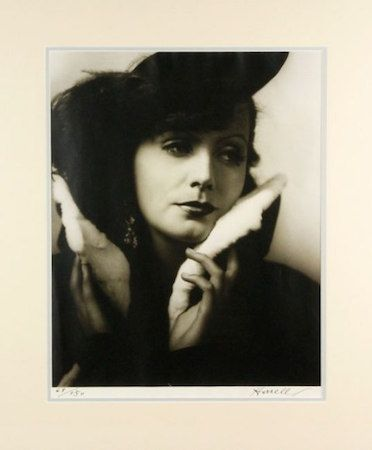 Photographie Hurrell - Greta Garbo