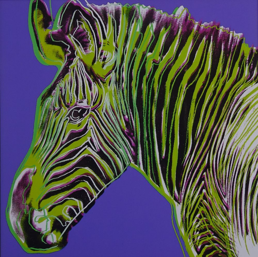 Sérigraphie Warhol - Grevy's zebra