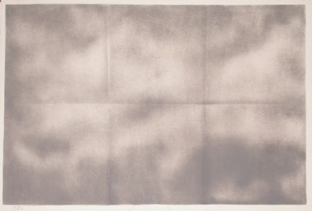 Lithographie Goode - Grey Folded Clouds - IV Grey