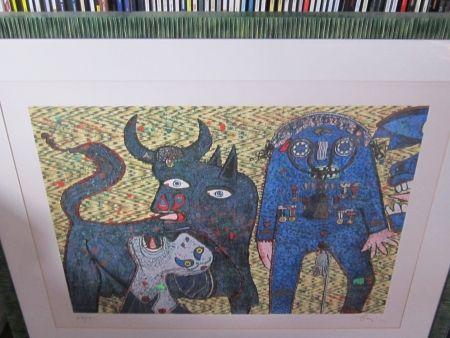 Sérigraphie Baj - Guernica