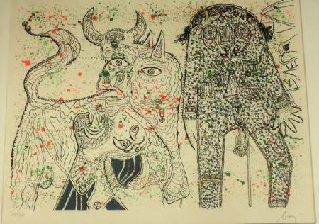 Lithographie Baj - Guernica