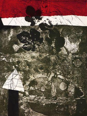 Gravure Clavé - Guerrier aux feuilles