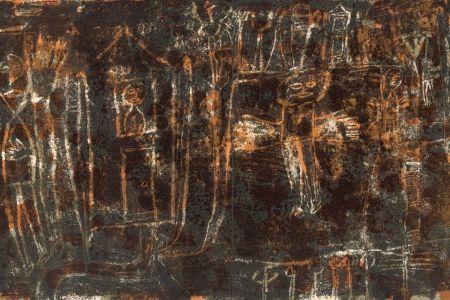 Livre Illustré Dubuffet - GUILLEVIC (Eugène). Élégies.
