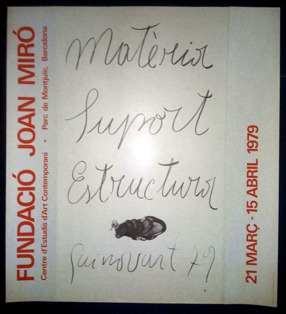 Affiche Guinovart - Guinovart - Fundació Miró