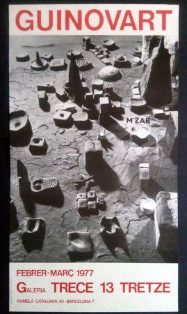 Affiche Guinovart - Guinovart Galeria trece 1977