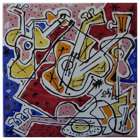 Céramique Dali - Guitares espagnoles