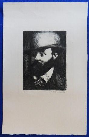 Lithographie Rouault - Gustave Moreau