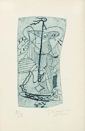Gravure Braque - Héraclite d'Ephèse
