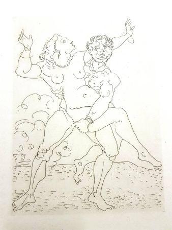 Gravure Derain - Héroïde
