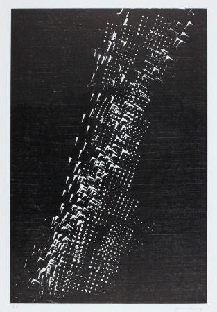 Gravure Sur Bois Hartung - H-1-1976
