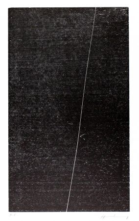 Gravure Sur Bois Hartung - H-17-1973