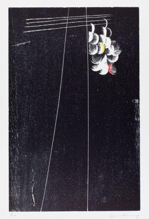 Gravure Sur Bois Hartung - H-20-1973